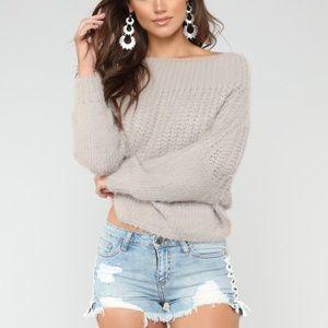 Fashion Nova Sweater Top